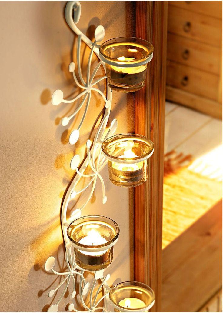 L'applique-photophore bougies «Naples»