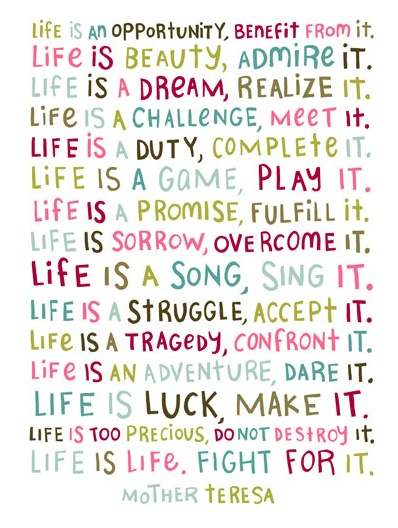 Life is an opportunity, benefit from it  #motivation #inspiration