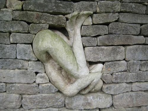 Sculpture by Anna Gillespie