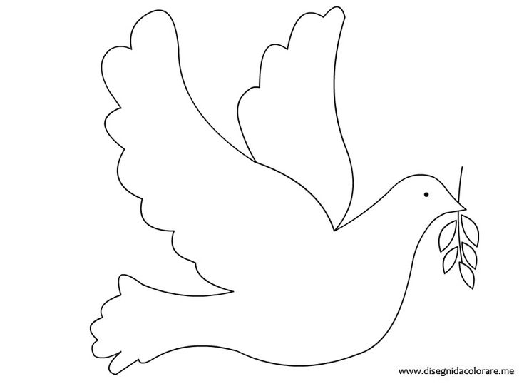 peace dove coloring sheet coloring pages