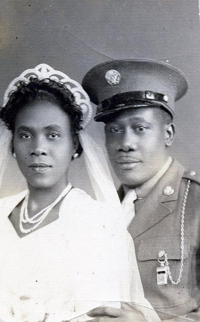 1940's newlyweds  http://vintagebrides.tumblr.com/archive