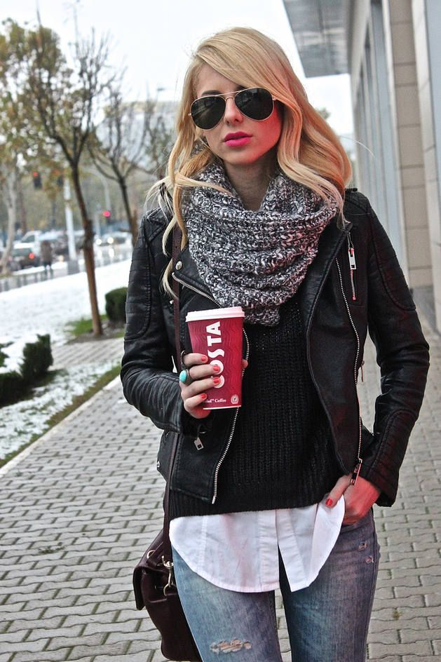 Layered Outfit Street Style #Fashion #Women_Style