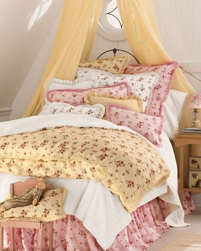 ☼Sweet shabby chic bedding
