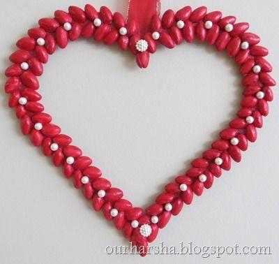 pistachio shell heart