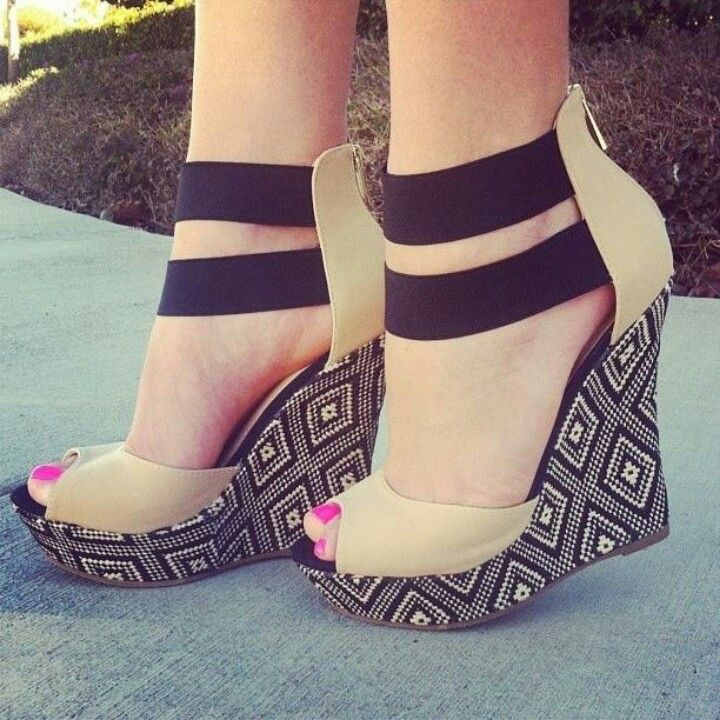 Love these wedges, very different.