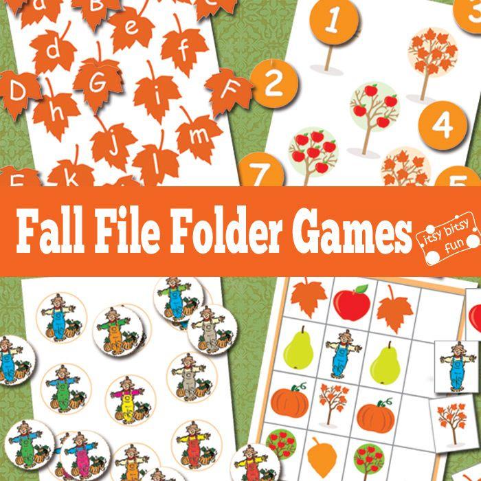 image regarding Free Printable File Folder Games known as 1000 illustrations or photos over history folder online games upon pinterest document folder