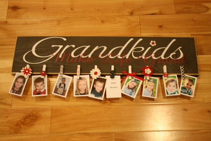 Gifts for grandparents.