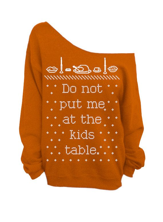 Ugly Christmas and Thanksgiving Sweater Rust by DentzDesign, $29.00