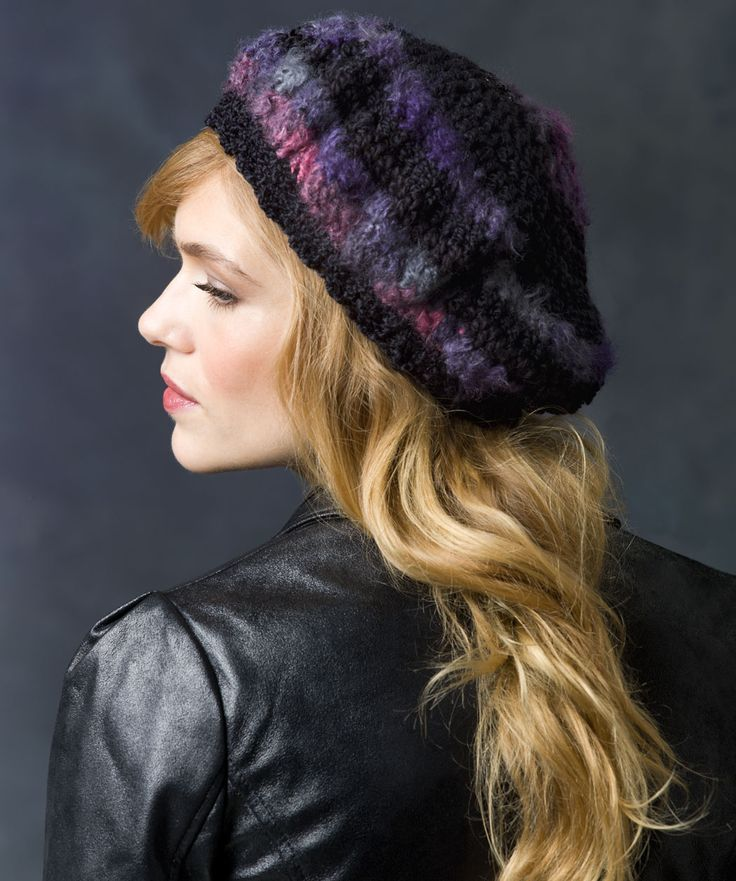 Slouchy Beret: free easy level pattern