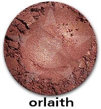 Orlaith- A frosty rose copper with borealis sparkles. #aromaleigh #mineralcosmetics