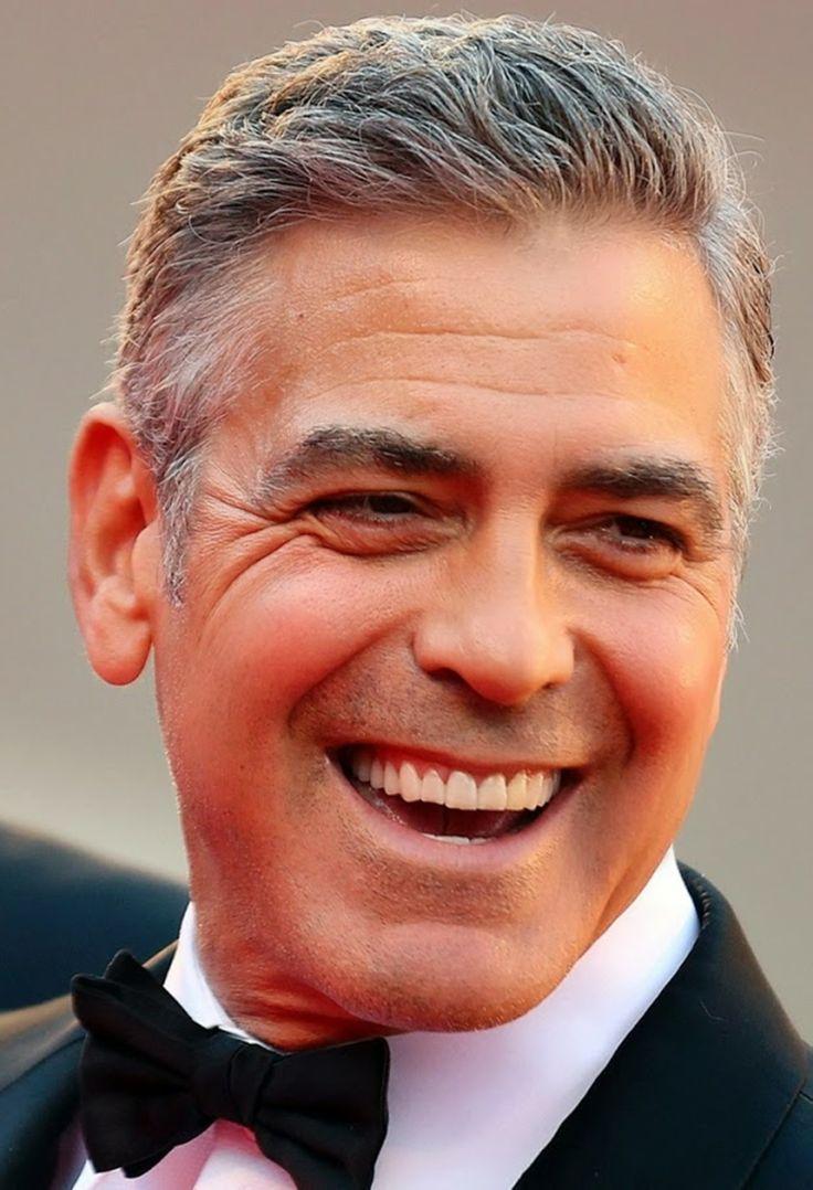 george clooney smile