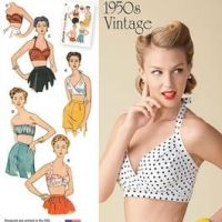Vintage pattern pledge: late but doing it anyway!