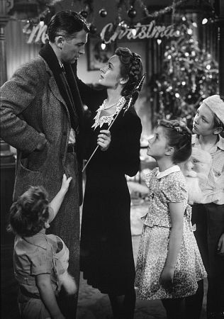 It's a Wonderful Life- love this movie as so many of us do. Wishing people were as friendly and giving like they were back than.