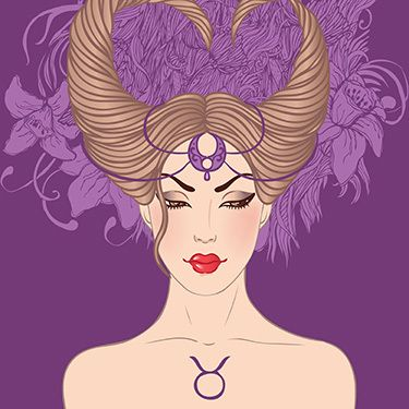 Zodiac Girl's faces by Varvara Gorbash, via Behance