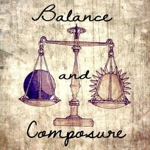libra balance and composure