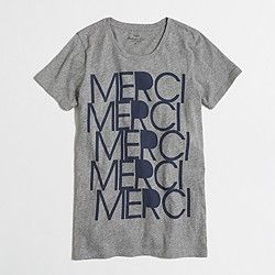 Factory merci collector tee