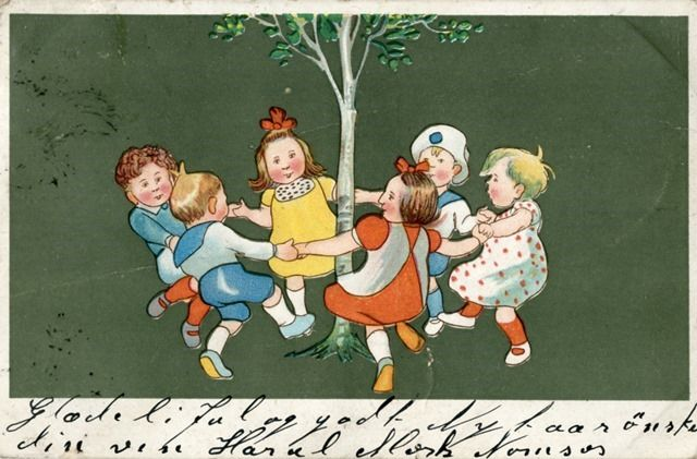 Glædelig jul!;  Happy Christmas;  Riksarkivet (National Archives of Norway) on The Commons (Flickr); http://www.flickr.com/photos/national_archives_of_norway/6475927185/