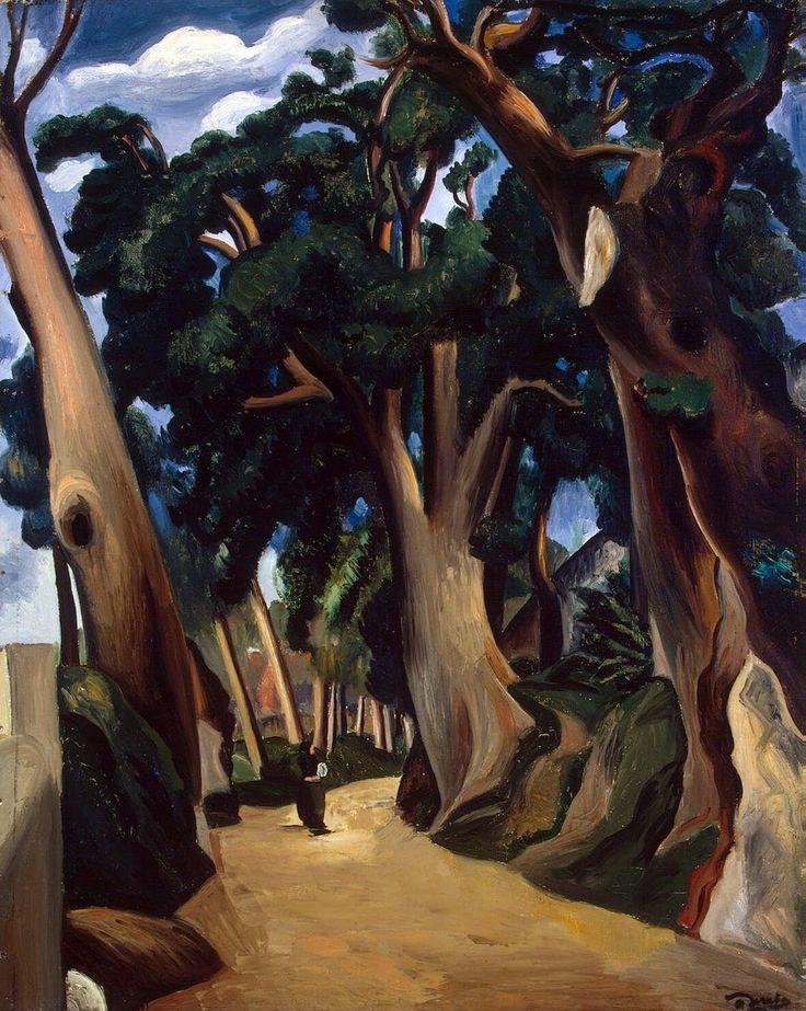 André Derain, Road to Castel Gandolfo, 1921