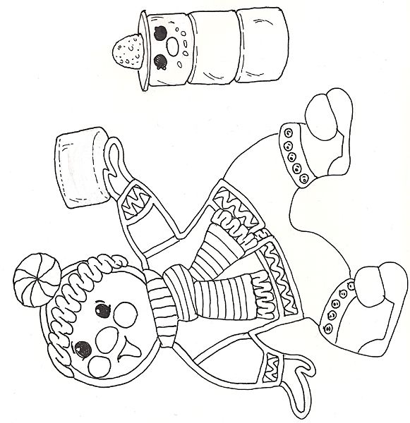 jan brett coloring pages gingerbread baby the mitten by cake