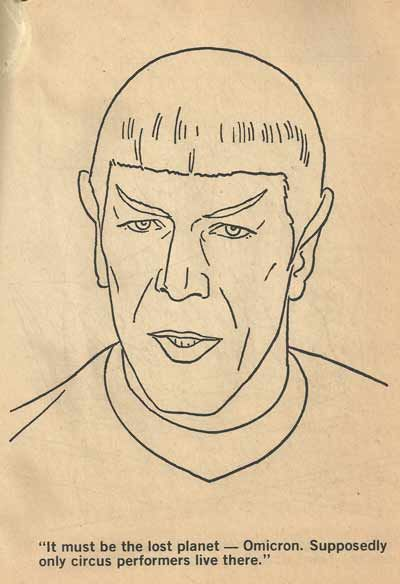 star trek coloring page spock coloring book pinterest