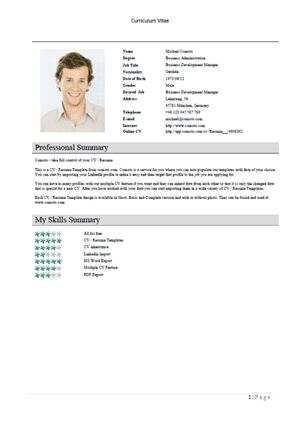 add your information to the resume template then tweak and edit it to