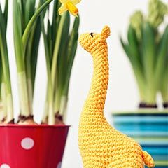 Miss Giraffe amigurumi crochet pattern by StuffTheBody