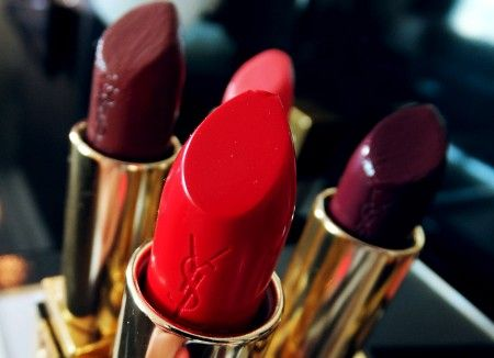 YSL Fall 2013 makeup_Rouge Pur Couture lipstick in 50 Rouge Neon