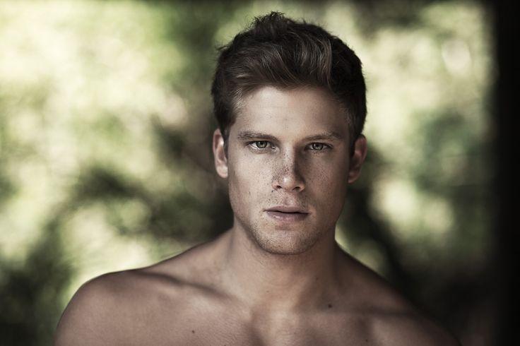 Victor Santiago   Fashion and Beauty Photographer   blonde male model freckles - Andrea Dal Soglio