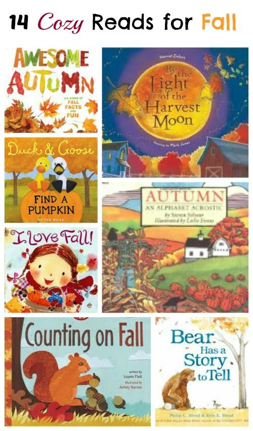 Gorgeous books that celebrate the fun and beauty of fall! #kidslit #fall #reading