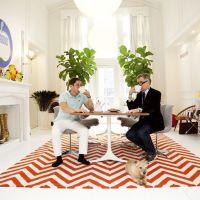 お宅拝見:セルビーのサイトから。あの有名男性カップルが登場・ジョナサン・アドラーとサイモン・ドゥーナン宅