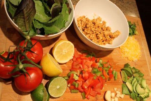 Mexican Turkey Taco Salad