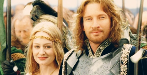 Aragorn and Arwen, I'm happy for y'all and I'ma let y'all finish, but Eowyn and Faramir make the best romantic couple in the whole book. The whole book!