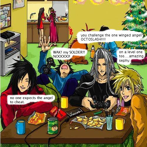 Final fantasy Christmas/holiday Showdown