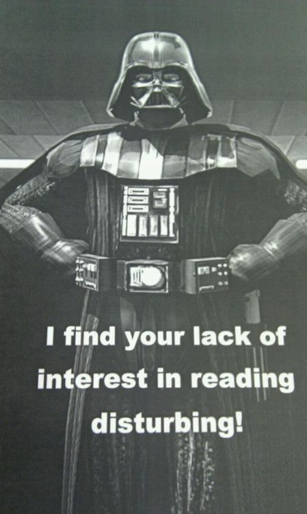 #DarthVader #starwars #reading