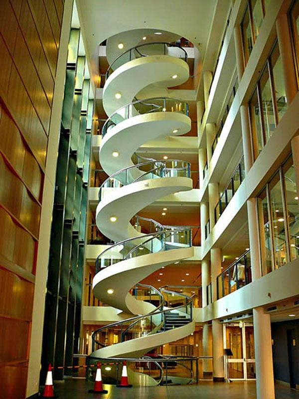 Ultimate Spiral Staircase