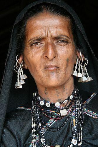 Asia - India / Gujarat - Machhukanah Rabari persone