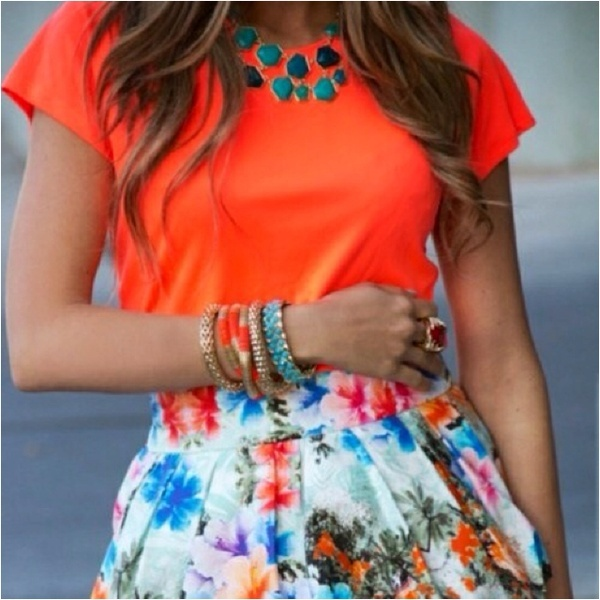 Neon + Floral!!! clothing-i-crave