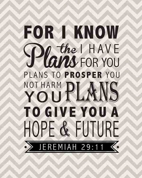 Good reminder for me this week. God has reminded me of this verse over & over this week when my faith has wavered with disappointing news.