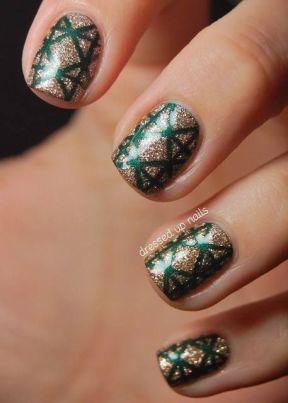 festive christmas nail designs