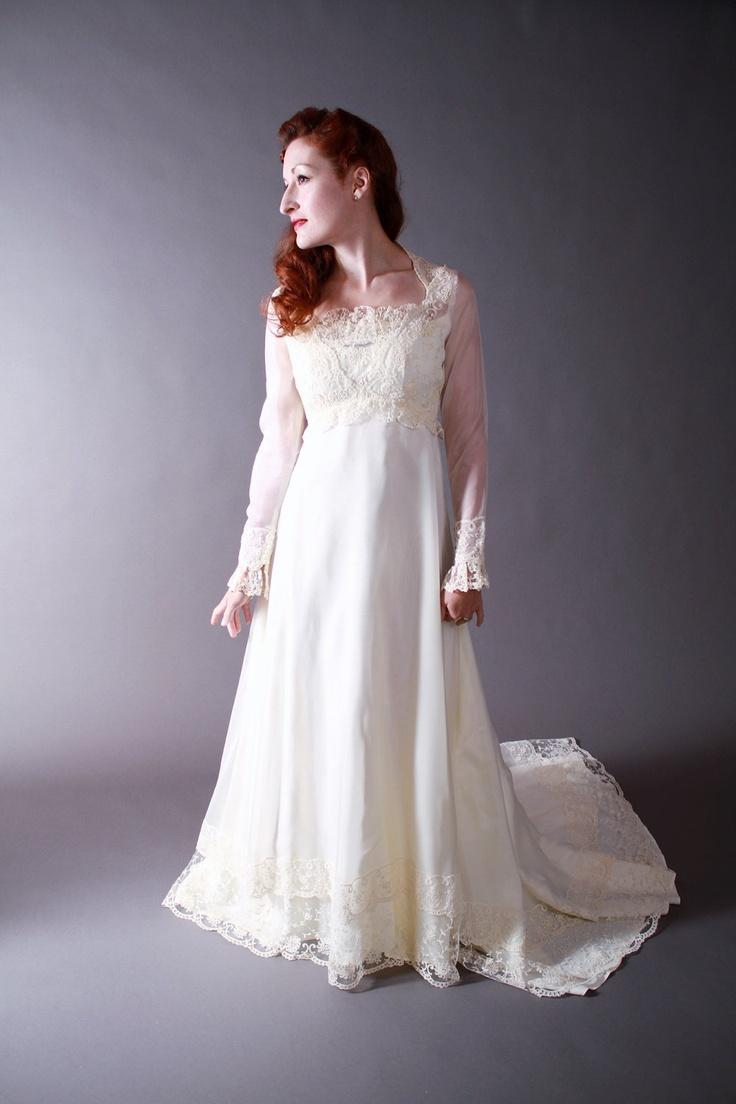 Ideas 1970s Wedding Dresses 1970s wedding dress vintage sheer powder blue nightgown lingerie dresses style wedding