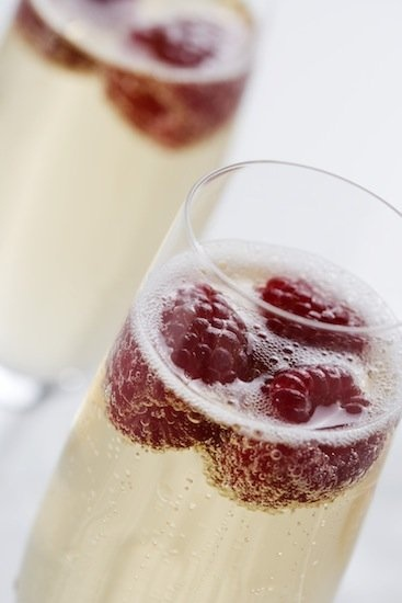 78 calorie Bellini Drink Recipe from giada de laurentis