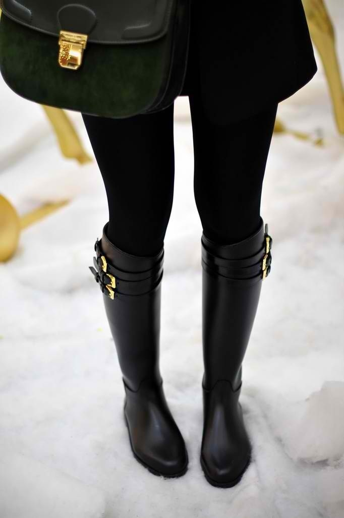 snow boot chic