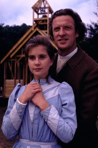 Dr. Neil MacNeill with Christy in the series, Christy, the first and last mainstream TV show (it aired on CBS) to allow God to be the foundation...