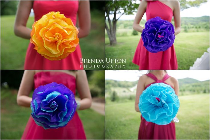 bridesmaid bouquets!