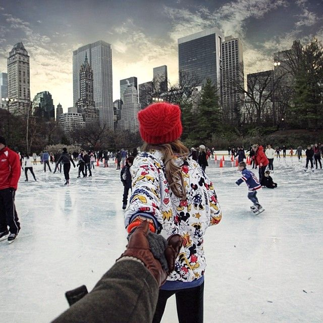 FOLLOW ME TO: Central Park Ice Rink, New York, United States