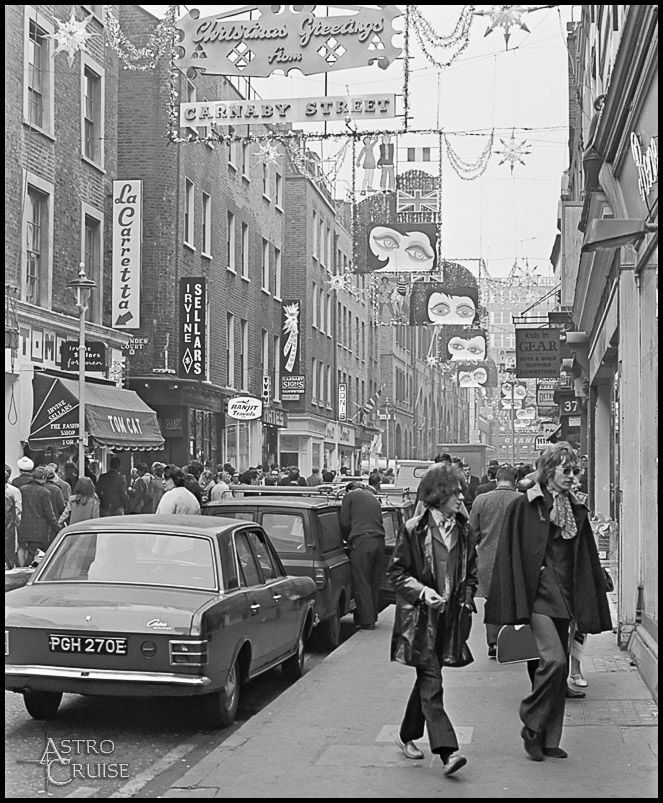 Carnaby St, 1960s