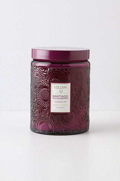 Voluspa Cut Glass Jar - anthropologie.com