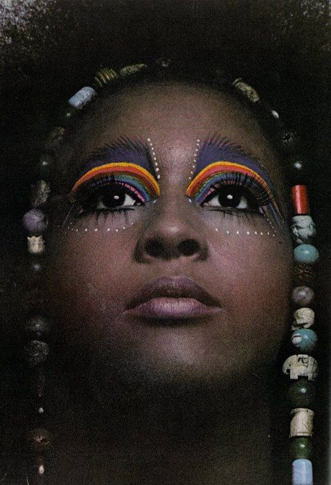 Marsha Hunt by Steve Lovi, UK Vogue July 1969