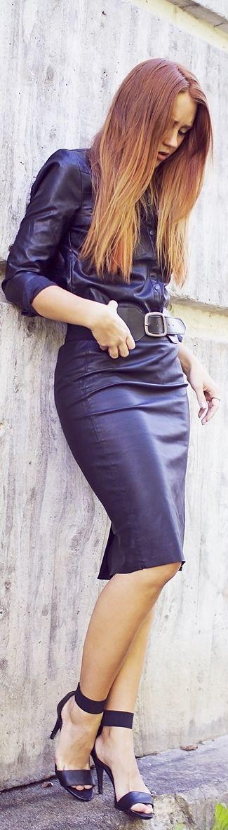 All Leather - Madelene Billman♥✤ | KeepSmiling | BeStayBeautiful