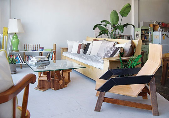 DIY Furniture at the Home of Audrey Ducas & Gregoire Abrial — New ...